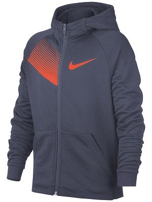 Nike Spring Dry Fleece Hoody Blu Bambino 1