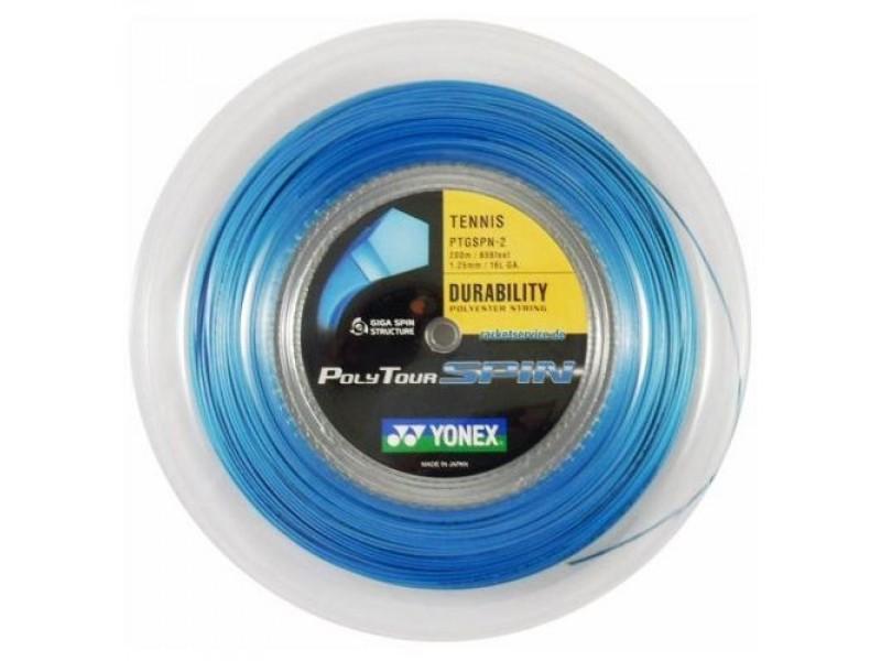 Yonex Polytour Spin Azzurro 1.25 mm 200 m