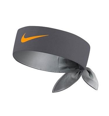 Nike Bandana Grigia Logo Giallo