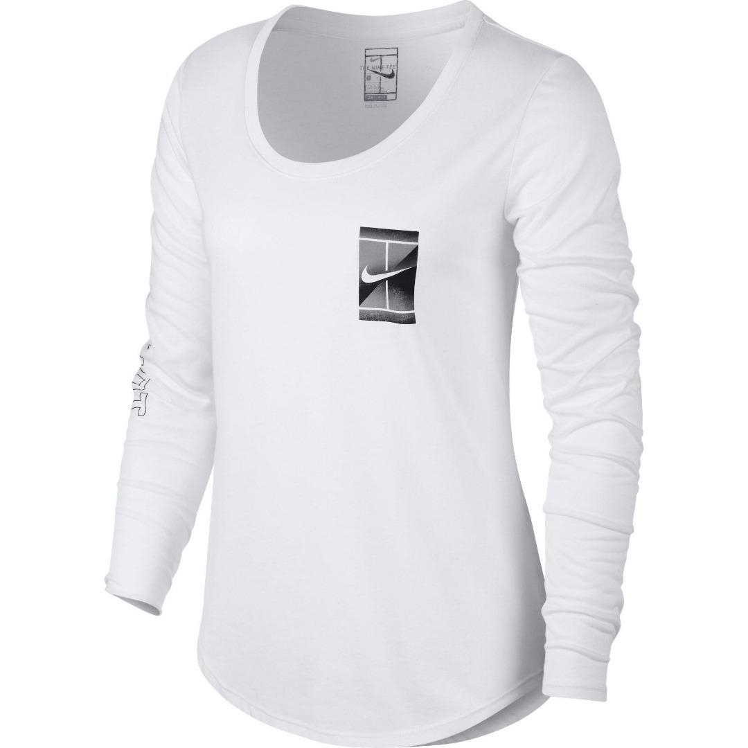Nike Winter Prism Court LS Bianco Donna 1