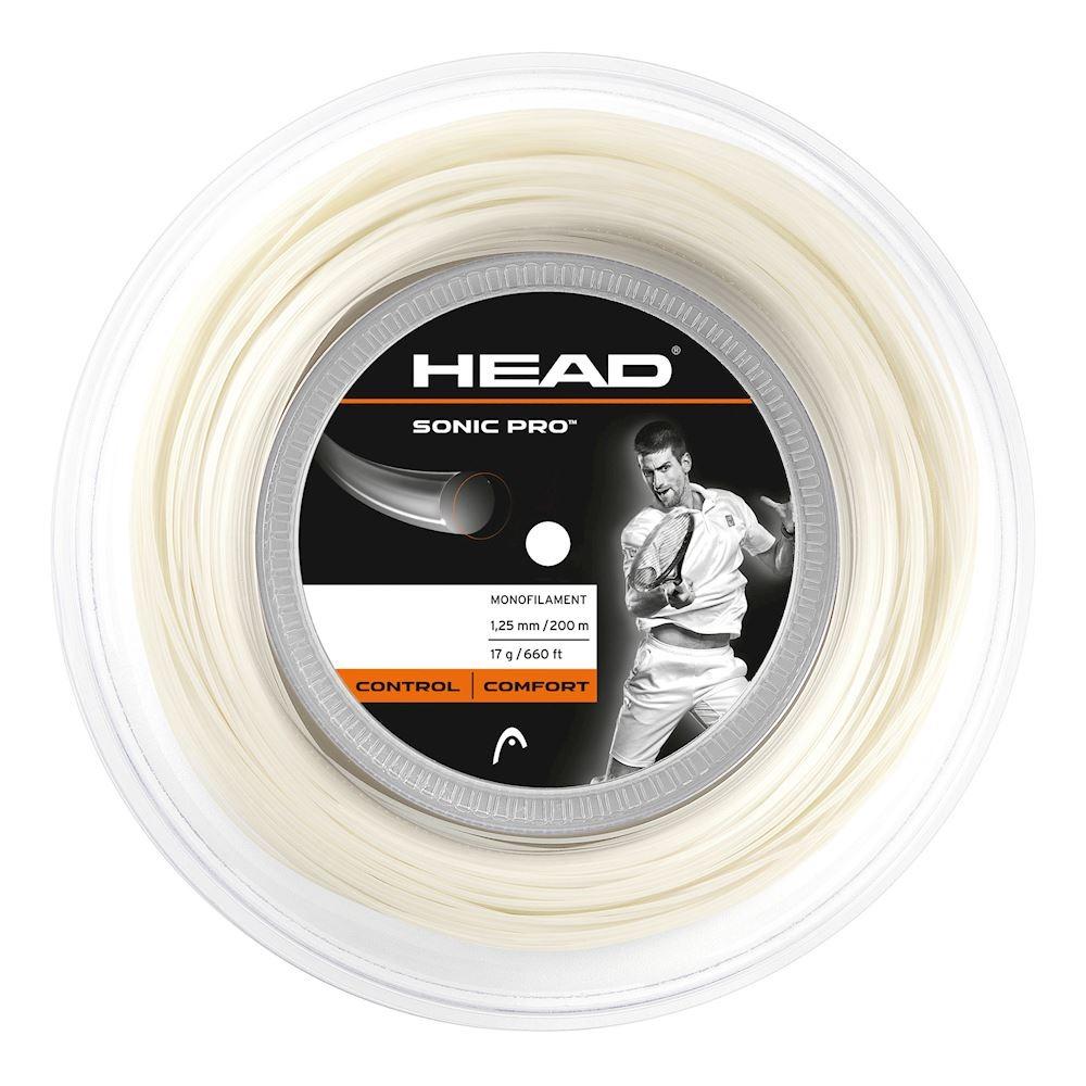 Head Sonic Pro Bianco 1.25 mm 200 m