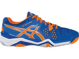 Asics Gel-Resolution 6 Blu-Arancione Junior 1