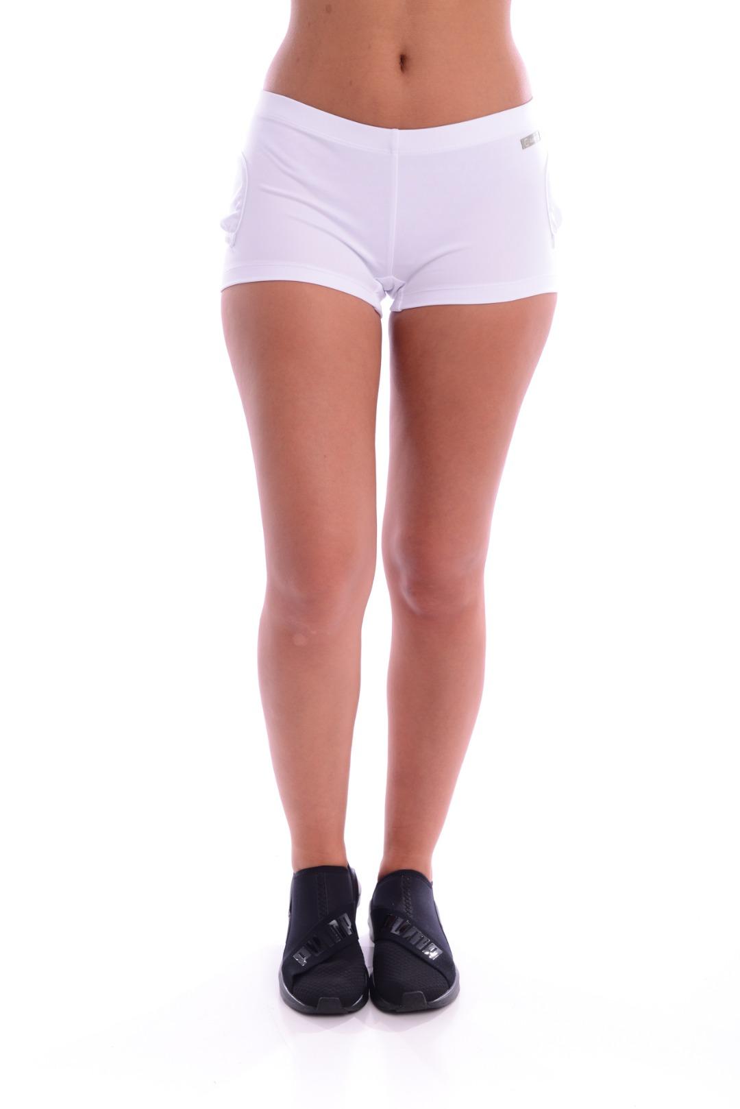 Lotto Short Uni Bianco Donna