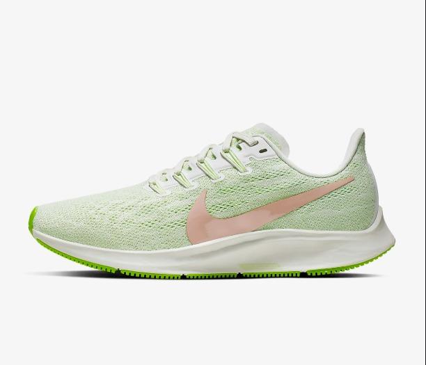Nike Air Zoom Pegasus 36 Beige Barley Lime Donna 1
