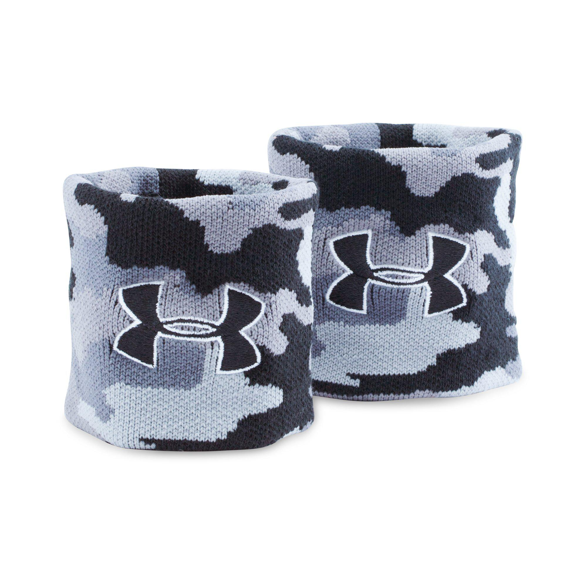 Under Armour Polsini Camouflage Grigio (2x)