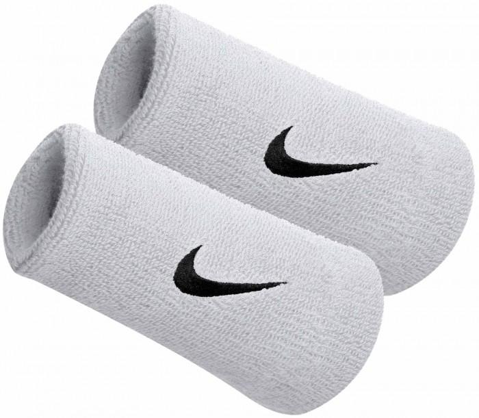 Nike Polsini Jumbo Pink Logo Bianco (2x)
