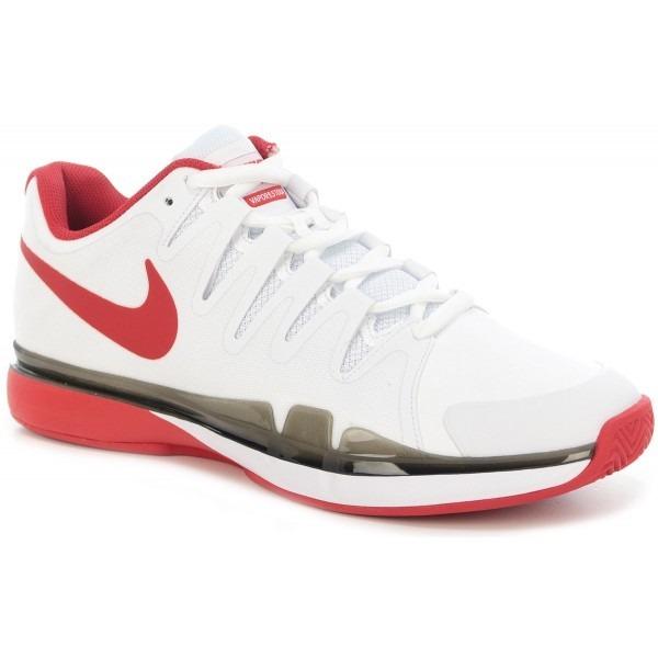 Nike Zoom Vapor 9.5 Tour Clay Bianco-Rosso Junior