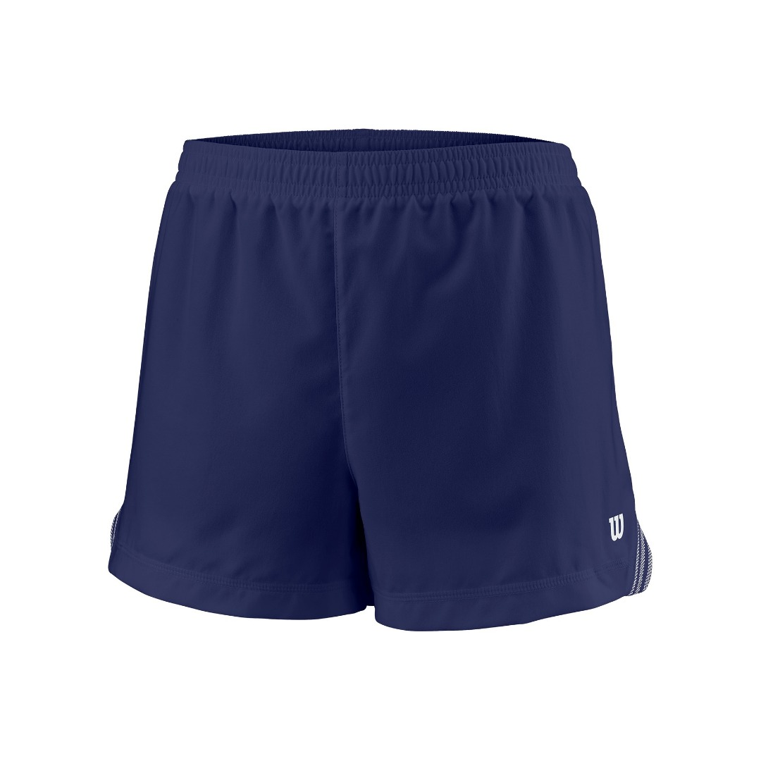 Wilson Team 3.5 Short Blue Bambina