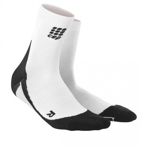 Cep Short Socks Dynamic White Donna 1