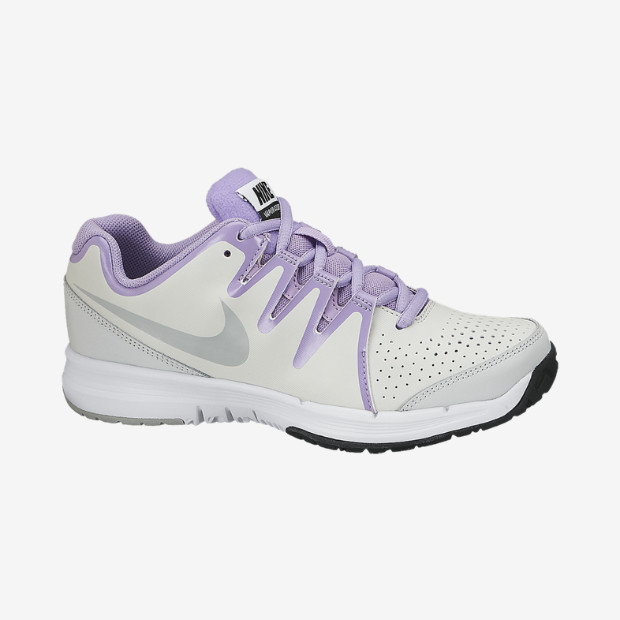 Nike Vapor Court Grigio-Viola Junior