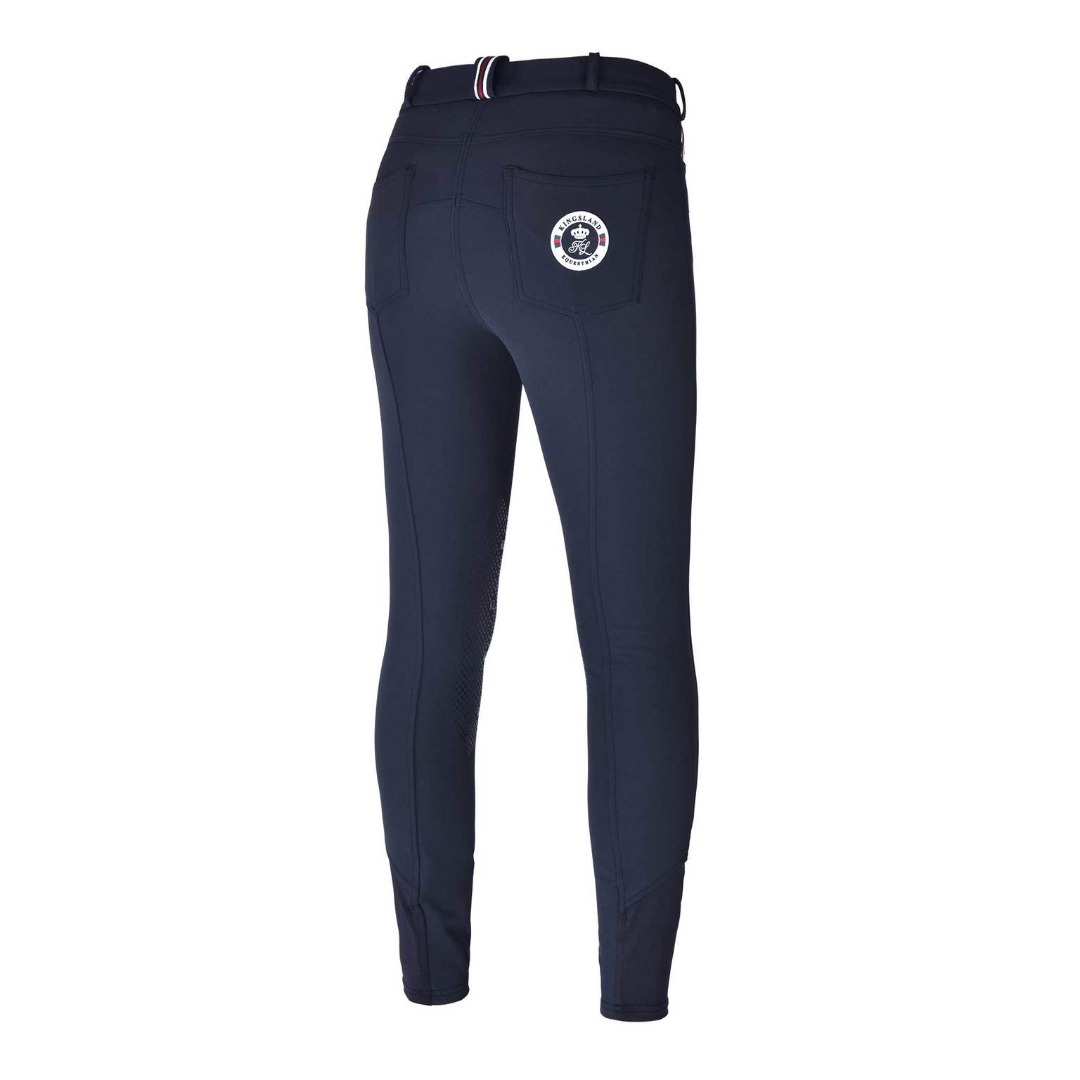 Kingsland Klkessi E-Tec K-Grip Breeches Navy Donna 1