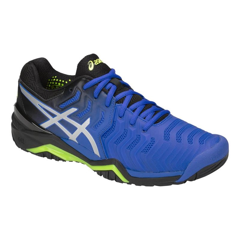 Asics Gel-Resolution 7 Illusion Blue-Silver Uomo 1