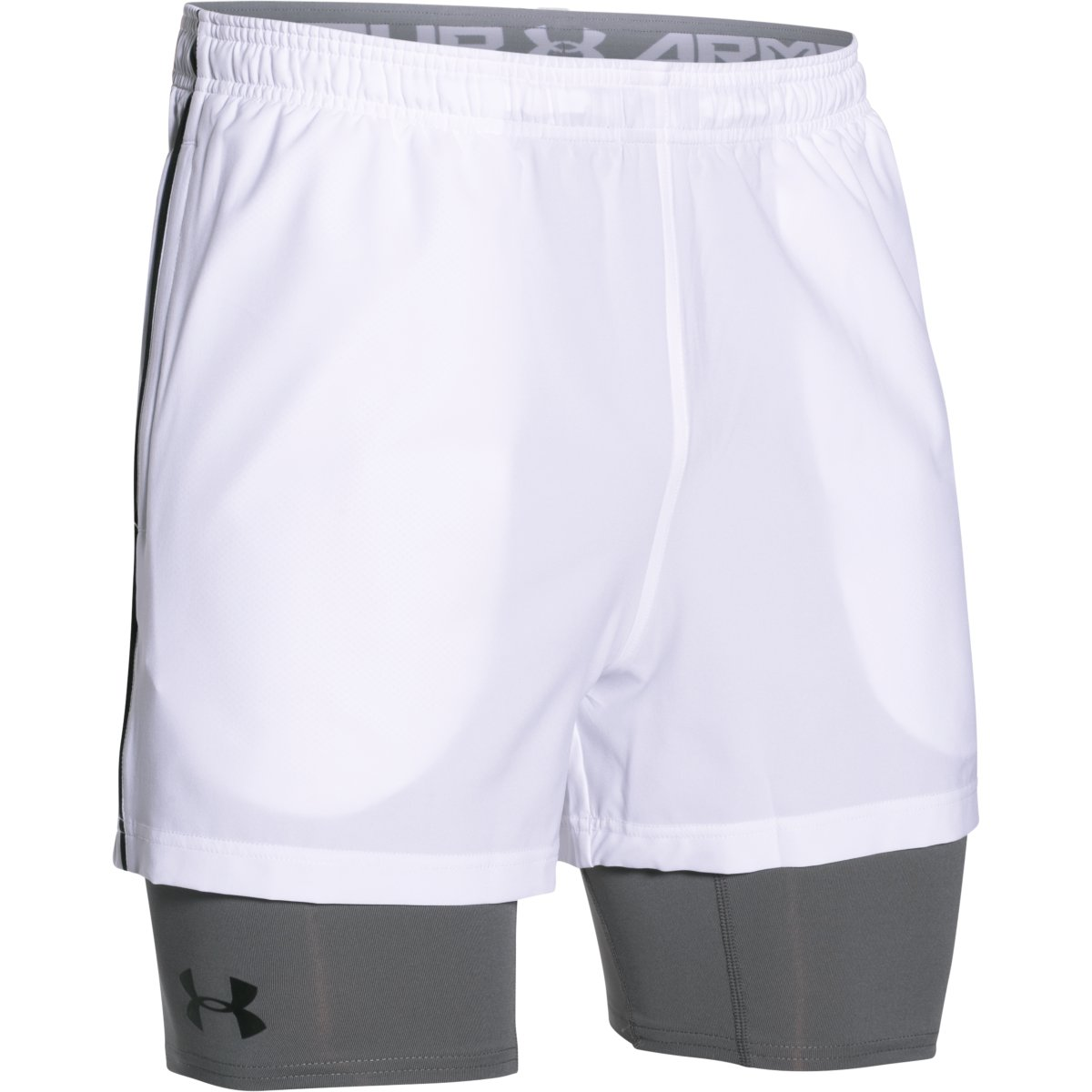 Under Armour Trainer Short Bianco Uomo