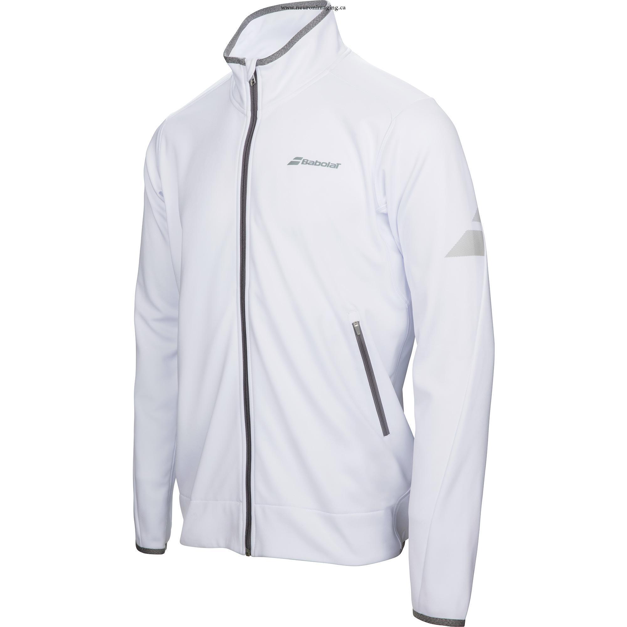 Babolat Perf Jacket Bianco Bambino