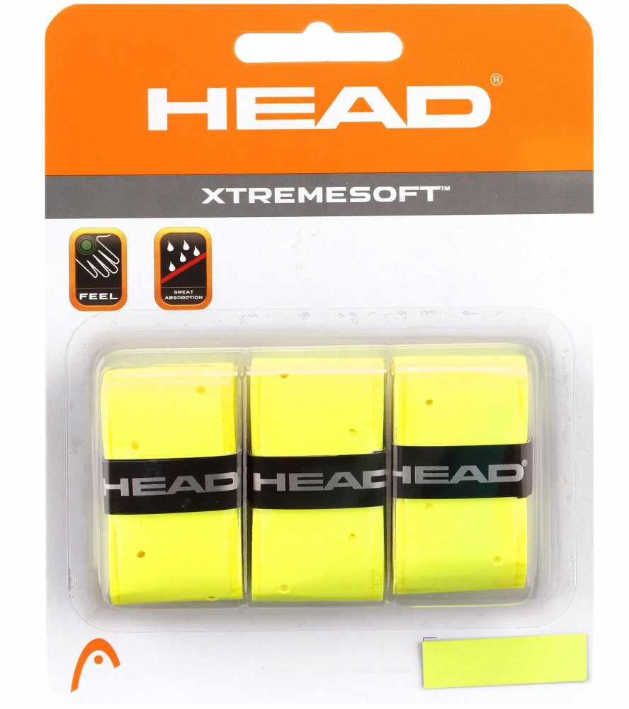 Head XtremeSoft Overwrap Grip Giallo (3x)