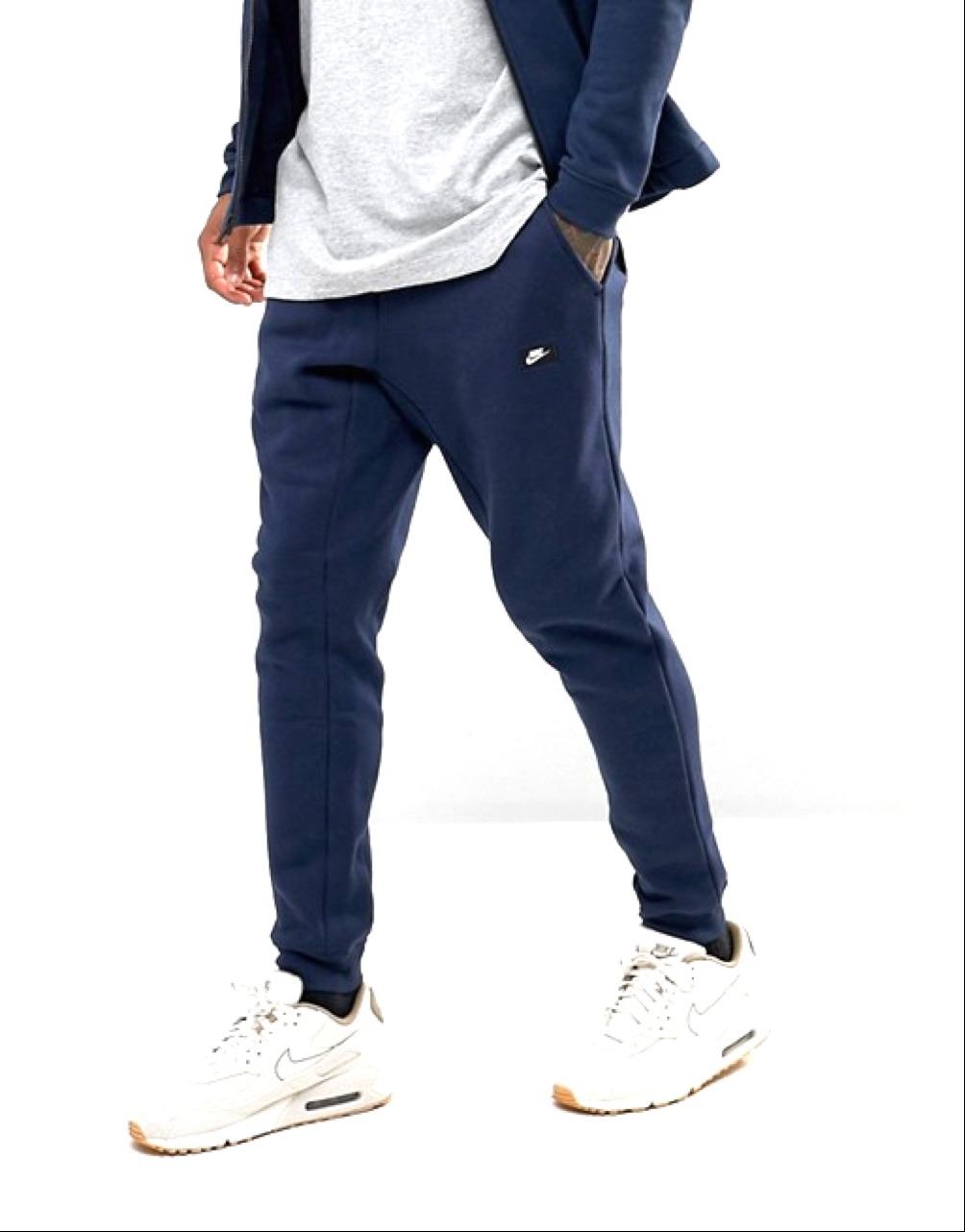 Nike Jogger in fleece Navy Uomo 1