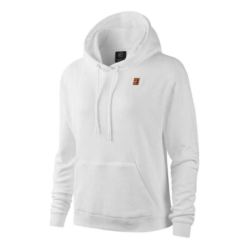 Nike Hoody Court Bianco Donna