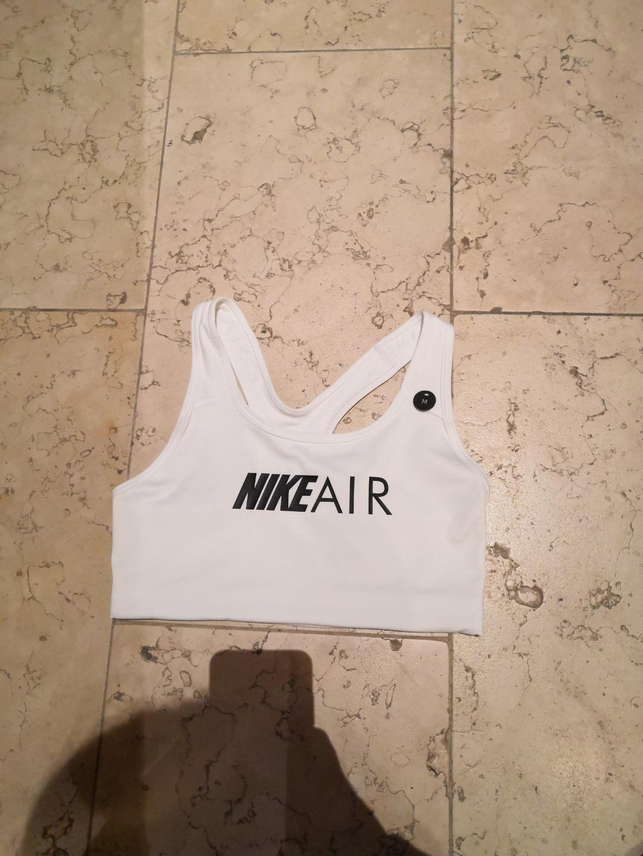 Nike Air Swoosh Bra Bianco Donna