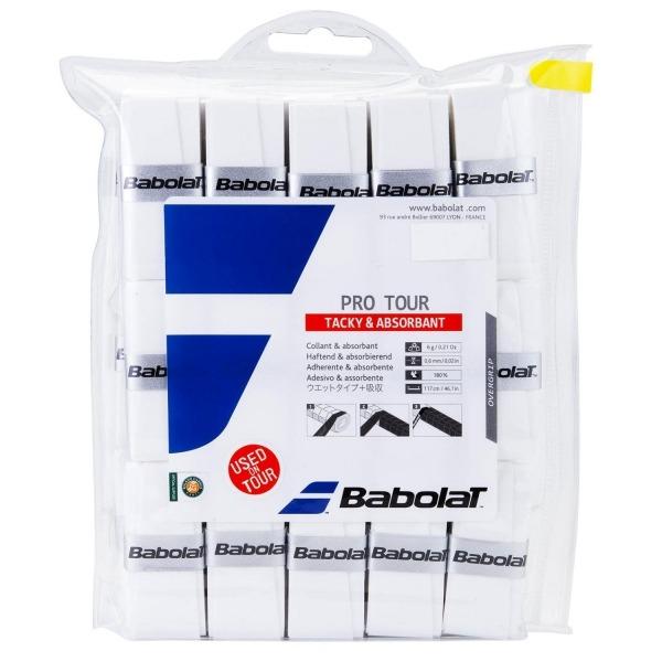 Babolat Pro Tour Overgrip Bianco (30x) 1
