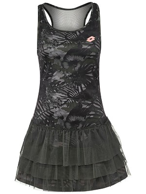 Lotto Vestito Camoflower Vestito Nero Donna