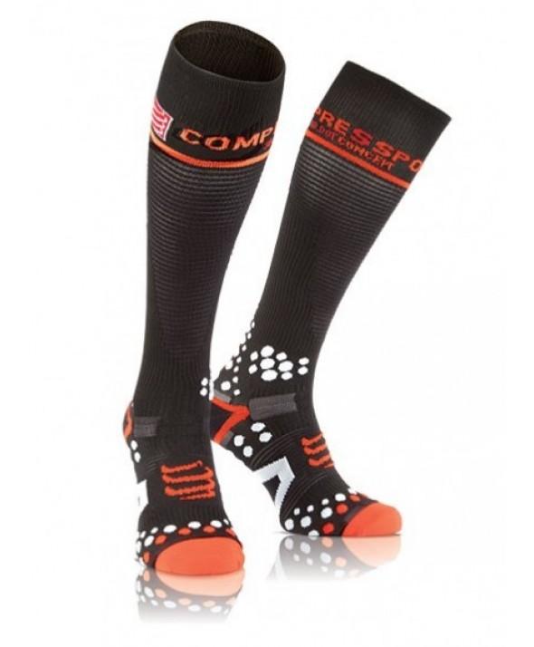 Compressport Calze Full Socks Nere