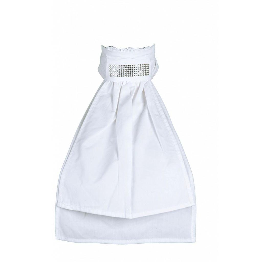 HKM Plastron white