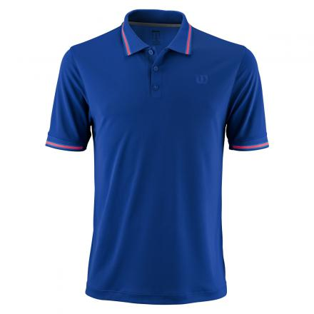 Wilson Star Polo Shirt Blu Uomo