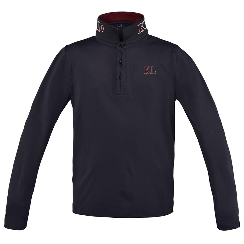 Kingsland Dufourspitze Polo Pique Navy Junior