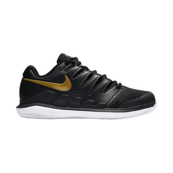 Nike Air Zoom Vapor X HC Nere/Oro Donna 1