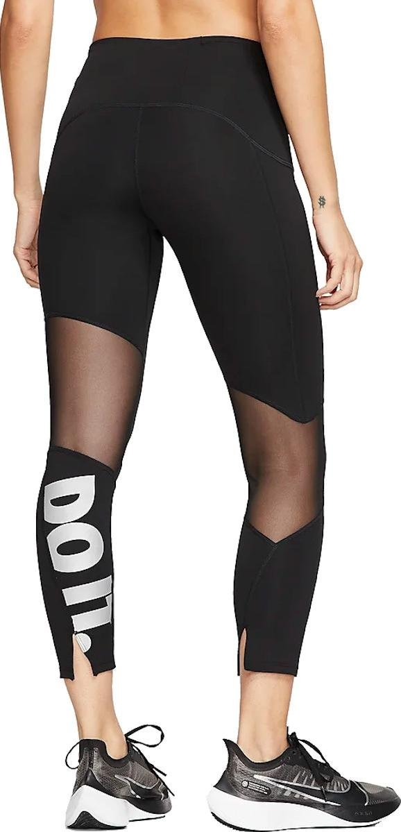 Nike Leggings 7/8 Black Donna 1