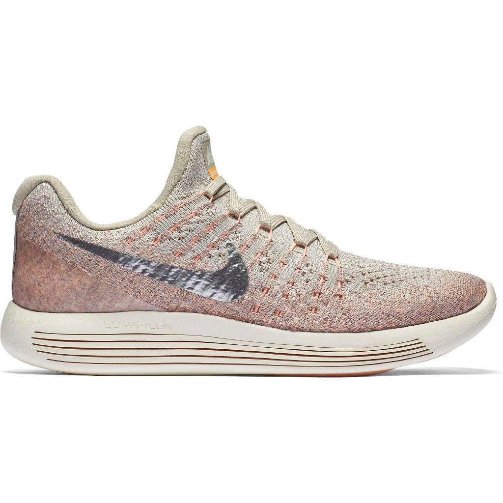 Nike Lunarpic Low Flyknit  Grigio-Rosa Donna