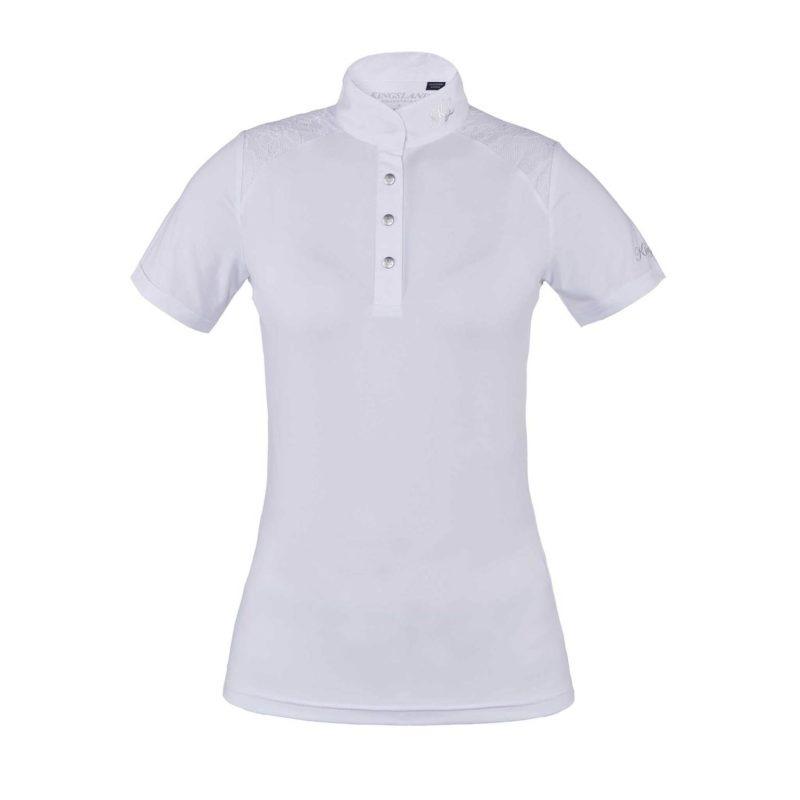 Kingsland Oliva SS Show Shirt Bianco 1