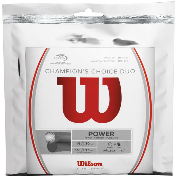 Wilson Champions Choice Duo 1.30 mm/1.25 mm 12 m 1