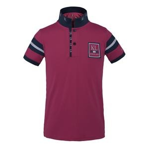 Kingsland Fuengirola tec Pique Polo Shirt Pink Navy Junior