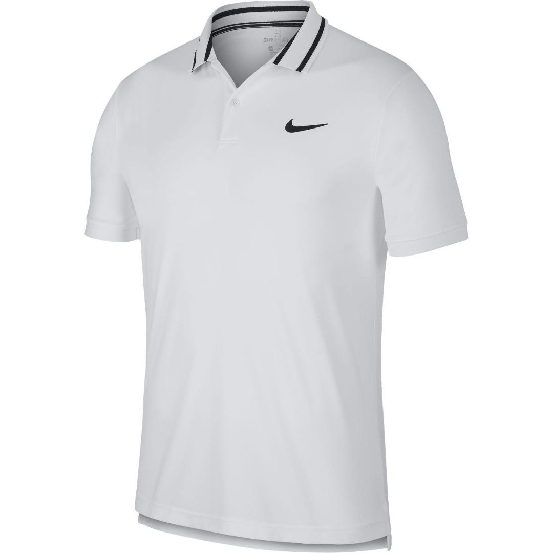 Nike Court Dry Fit Bianco Uomo 1