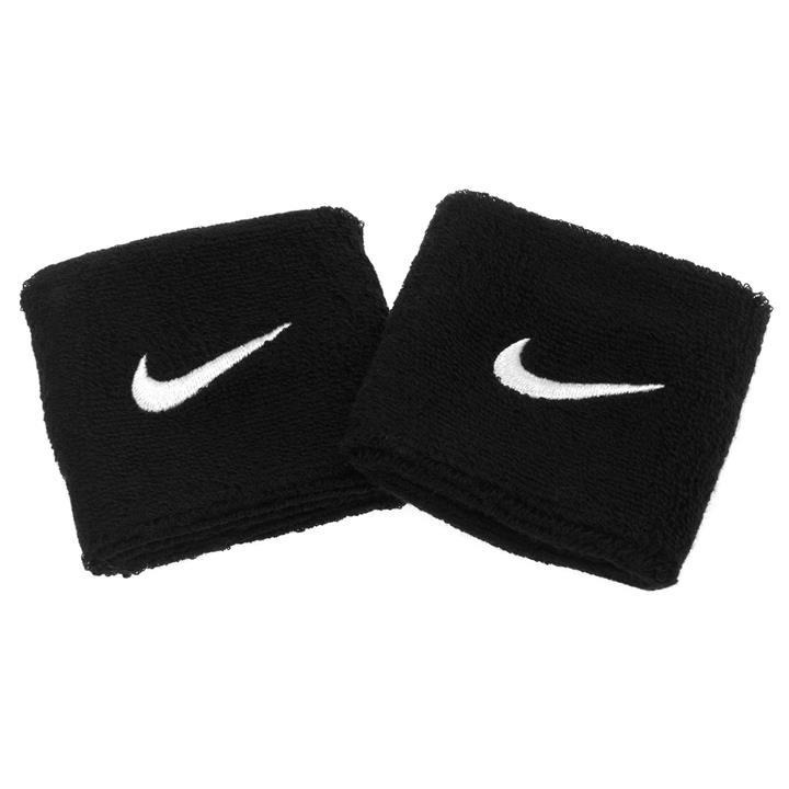 Nike Polsini Wristband piccoli Neri (2x) 1