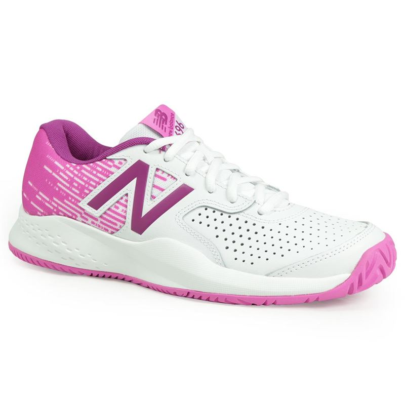 New Balance WC 696 AC Pink-Bianco Donna
