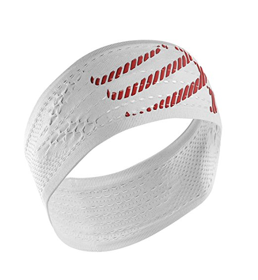 Compressport Headband Bianco