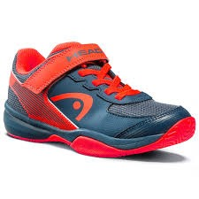 Head Sprint Velcro 3.0 Navy Neon Red Junior
