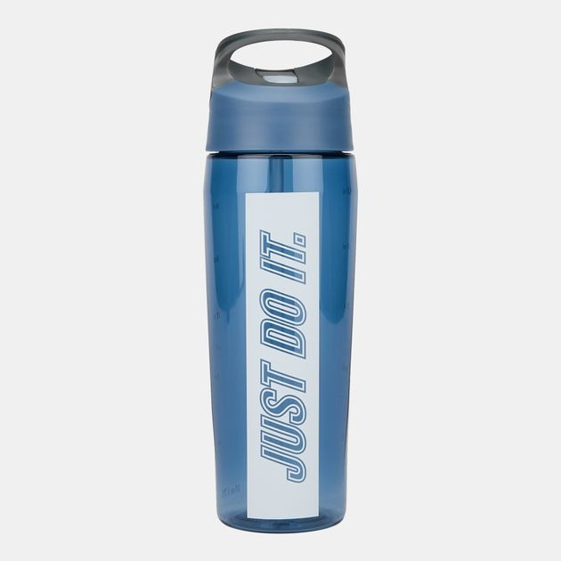 Nike Borraccia Hypercharge Straw Blu Just Do it