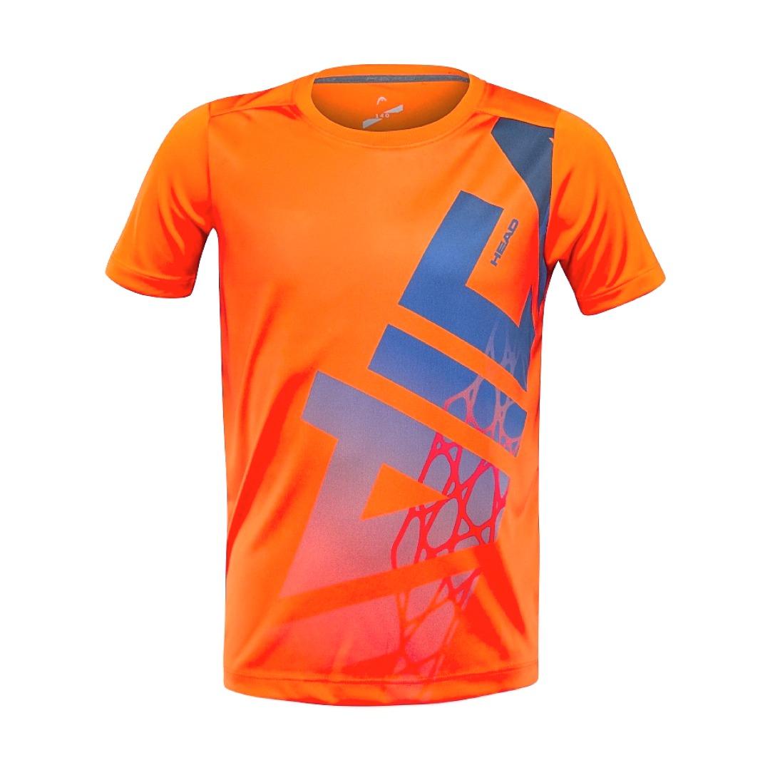 Head Vision Radical T-Shirt Arancione Bambino 1