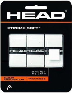 Head XtremeSoft Overwrap Grip Bianco (3x)