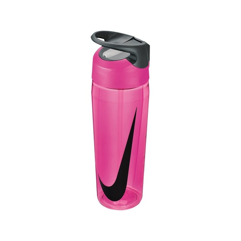 Nike Borraccia Hypercharge Straw Trasparente-Pink