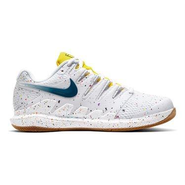 Nike Air Zoom Vapor X HC Bianco-Valerian Blu Laser Donna