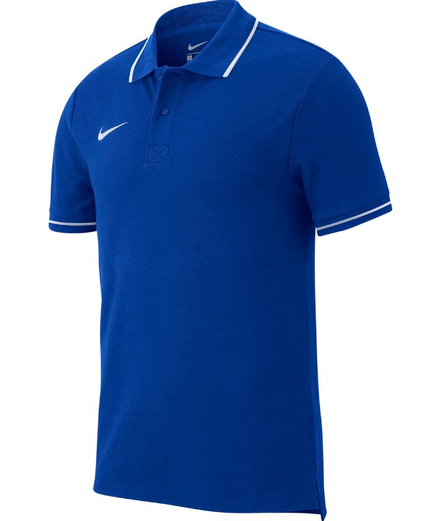 Nike Basic Team Polo Blu Uomo