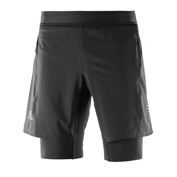 Salomon Short Black Uomo