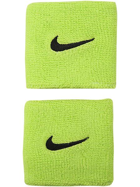 Nike Polsini Lime Logo Nero (2x)
