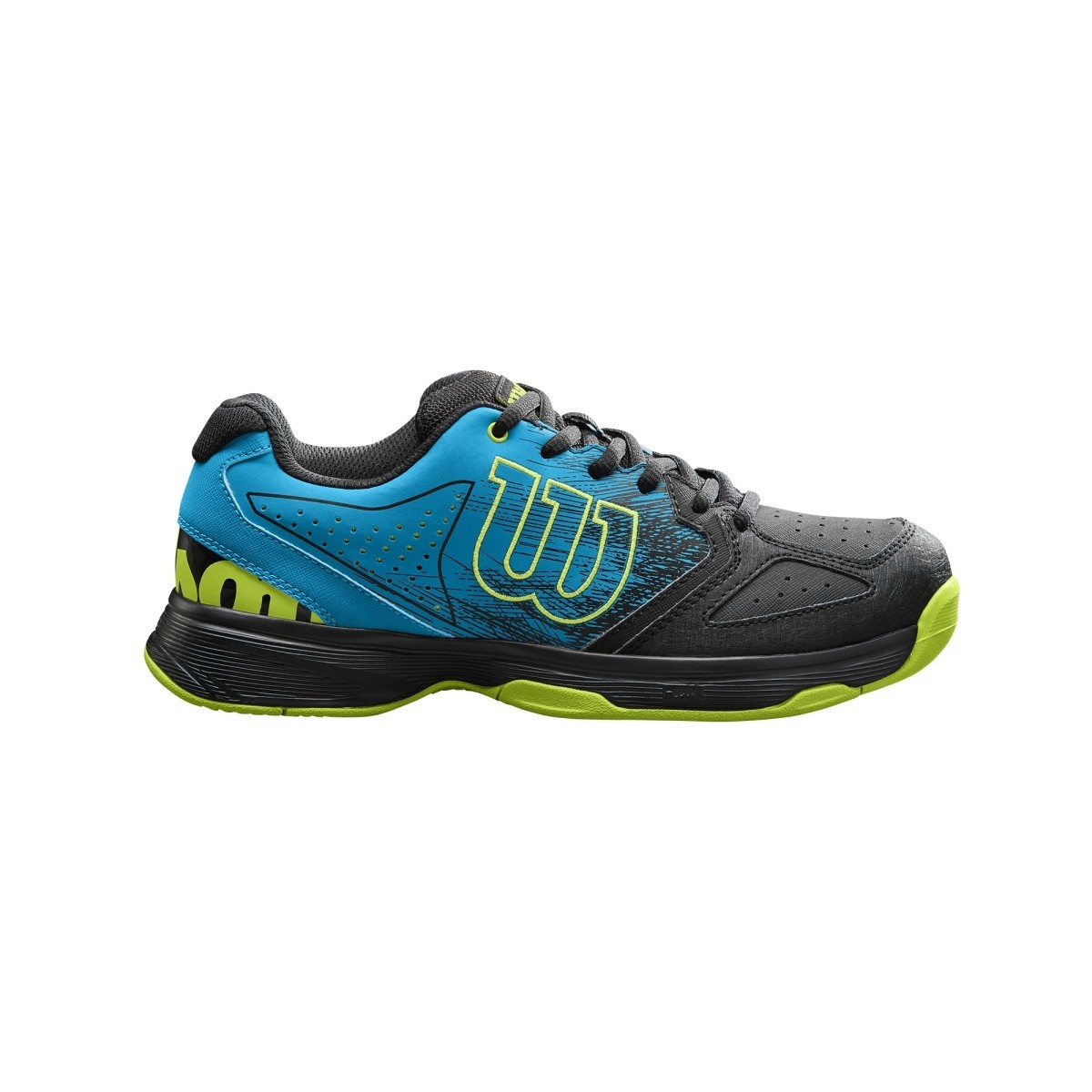 Wilson Stroke K Nero-Blu-Giallo Junior