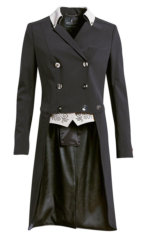 Kingsland  Devica Tail Coat Nero Donna 1