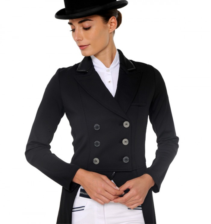 Spooks Tail Change Your Collar Jacket Dressage Navy